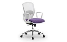 Sedie per ufficio bianche leyform