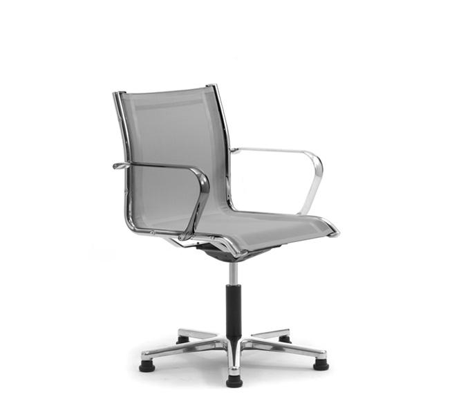 Poltrona Ufficio Senza Ruote.Sedie Per Scrivania Ufficio Senza Ruote Leyform