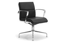 Sedie Da Ufficio Con Braccioli Senza Ruote : Sedie per scrivania ufficio senza ruote leyform