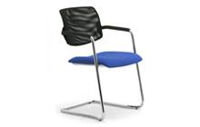 Sedie per scrivania ufficio senza ruote leyform